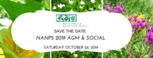 Save the Date - NANPS 2019 AGM & Social